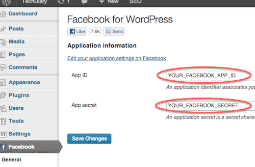 wordpress_facebook_plugin_settings