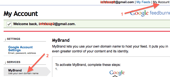 google-feedburner-my-account-my-brand