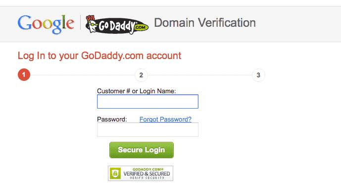 google-webmaster-verify-godaddy-login