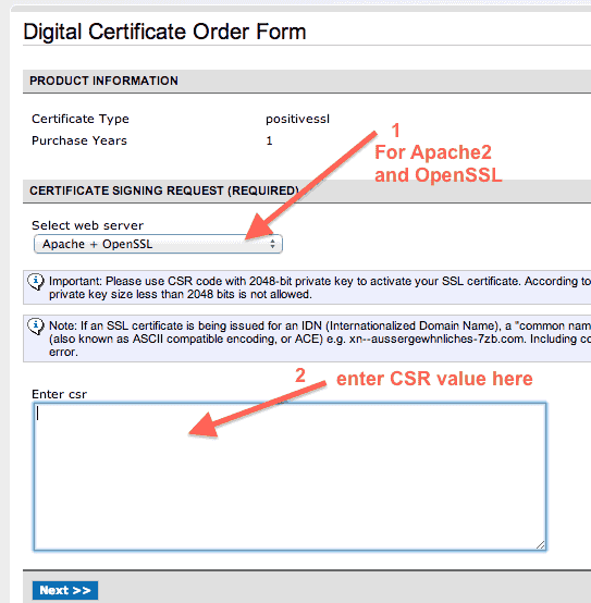 namecheap-digital-certificate-order-form-screen-1