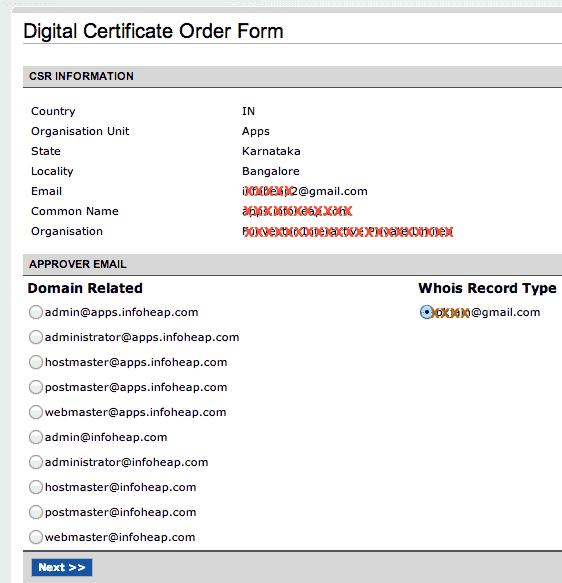 namecheap-digital-certificate-order-form-screen-2