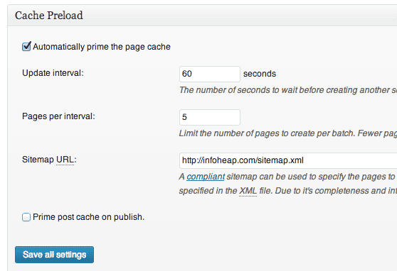 w3-total-cache-page-cache-preload-settings