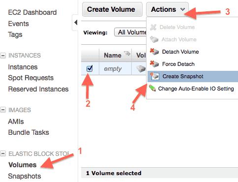 aws-ebs-create-snapshot-menu