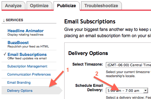 google-feedburner-email-subscriptions-delivery-options