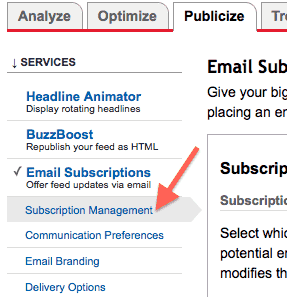 google-feedburner-email-subscriptions-management-screen
