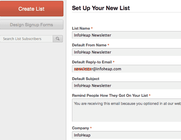 mailchimp-setup-new-email-list-form