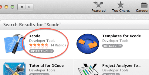 mac-app-store-xcode-installing