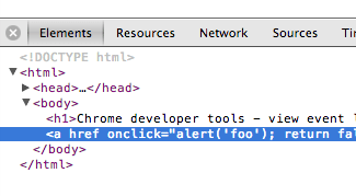 chrome-developer-tools-element-selected