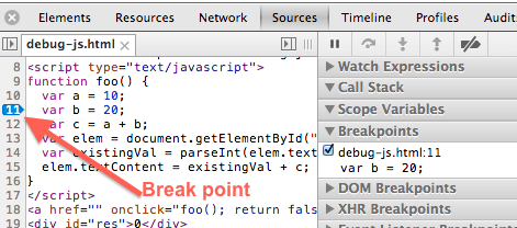 chrome-developer-tools-js-code-break-point