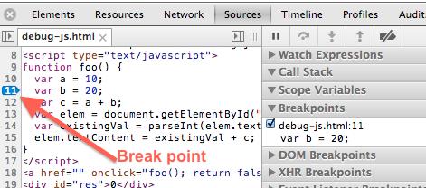 chrome-developer-tools-js-code-break-point