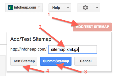 google-webmaster-tools-sitemap-add-test