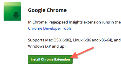 install-page-speed-chrome-extension-link