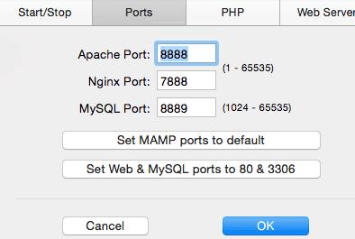 mamp-preference_ports