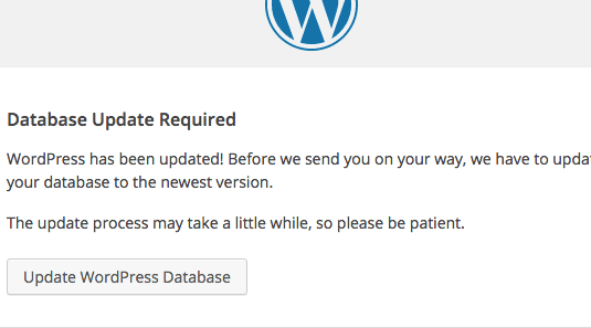 wordpress-update-db-screen