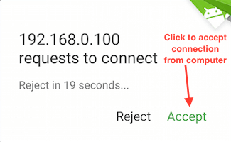 android-airdroid-request-to-connect-from-pc