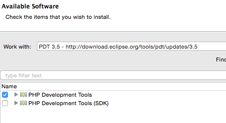 eclipse-pdt-installation-options