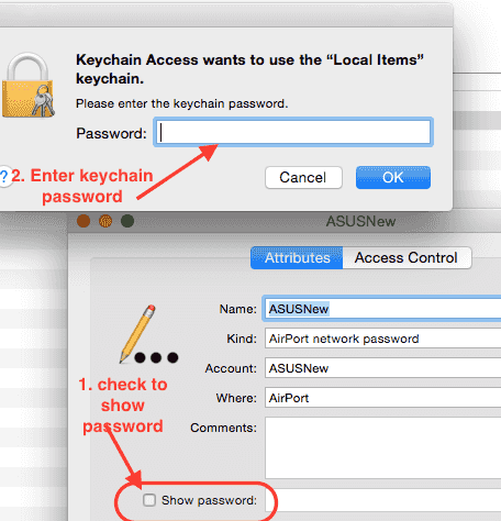 How to view your WiFi password on Mac - InfoHeap