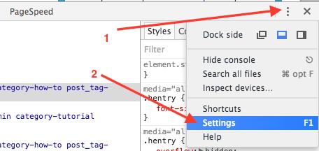 chrome-developer-tools-settings-highlighted