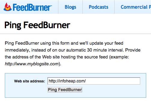 feedburner-ping-form