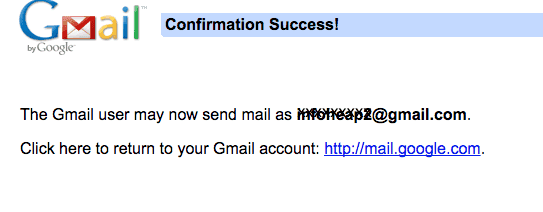how to create secondary gmail address