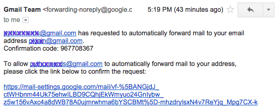 how to move mail from one gmail to another