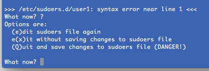 linux-visudo-syntax-error-save-failure-example