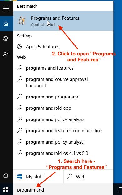 How to enable telnet program on Windows 10 - InfoHeap