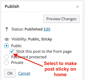 wordpress-post-edit-sticky-checkbox