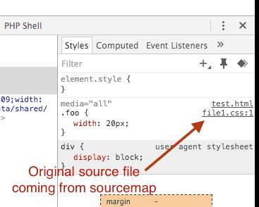 chrome-developer-tools-sourcemap-original-source-css