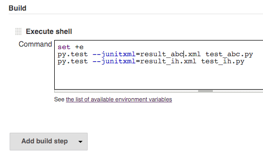 jenkins-multiple-shell-commands-continue-on-error-set-plus-e