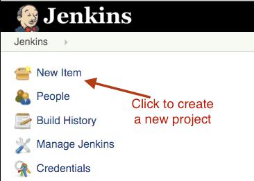 jenkins-new-item