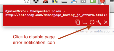 chrome-javascript-errors-notofoer-option-to-disable-page-error-icon